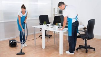 security measures for office cleaning