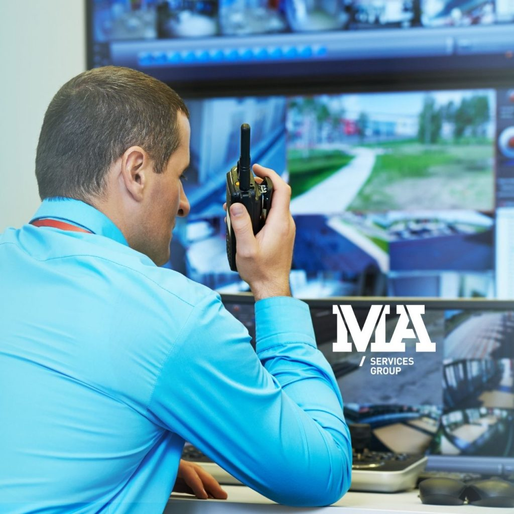 CCtv operations by a commercial security provider MA Services Group