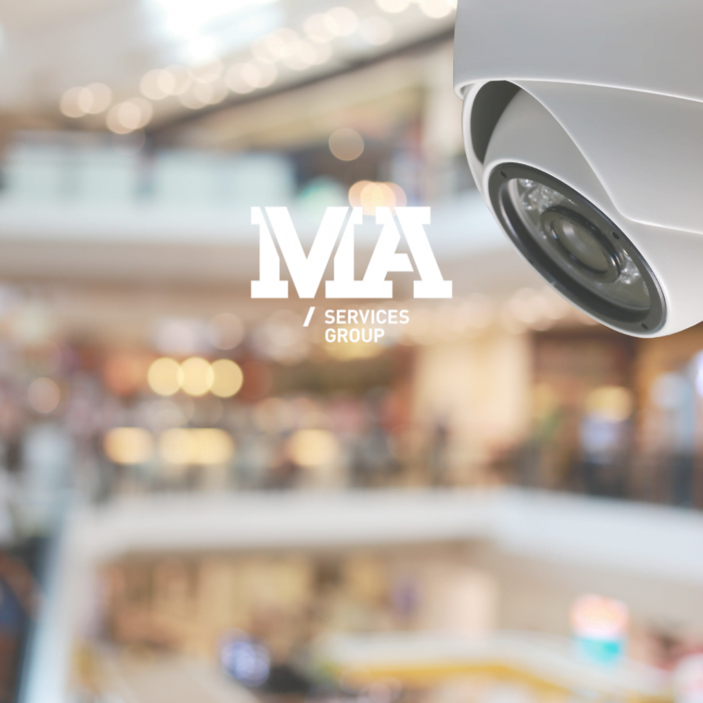 CCTV System at Shopping Centre For Security